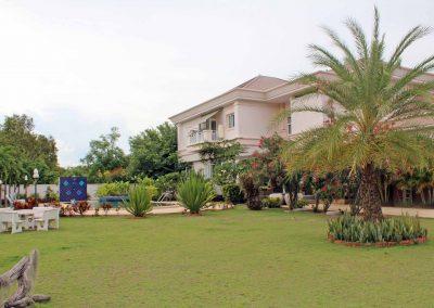 สวนหลังบ้าน.